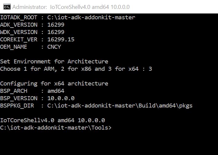 Beginning IoT – Installing Windows 10 IoT Core on an x86/x64